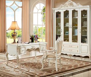 5527#瑞德家居 系列 欧式故乡系列 描金工艺 优良实木  书桌