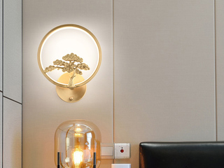 古代繁复 铜8889(28W)壁灯(含光源)