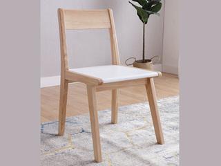 北欧气概 泰国入口橡胶木实木椅