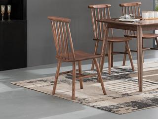 北欧气概 北美入口洋蜡木 餐椅(单把价钱 需双数采办 双数需增添打包用度)