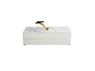轻奢气概 铜+木盒 储物盒