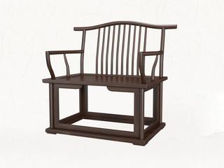新中式 乌金木 JRZS-1001-太师椅