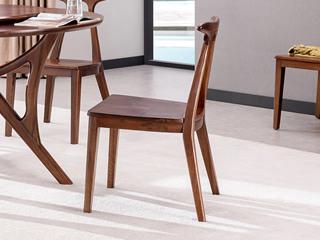 意式极简 实木餐椅(单把价格 需双数购买 单数需增加打包费用)