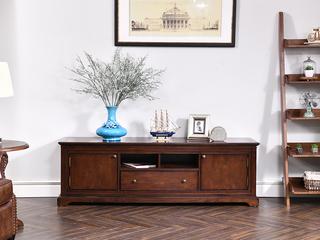 北美进口黄杨 嘉宝莉环保漆 简美风格 美式电视柜