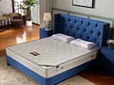 皮坊工艺 布艺系列 天然椰棕+360度精致绣花围边 1.8*2.0床垫