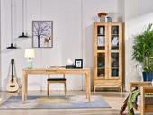 荣之鼎 北欧风格 原木色 实木 1.5米 书桌