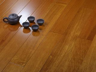 实木平面非洲柚木实木地板