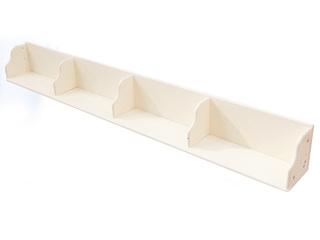 现代风格 1.92米 实木 白色 简易书架