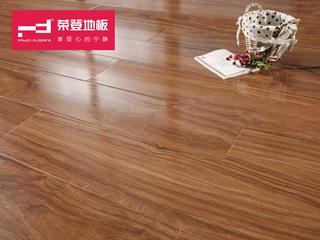 仿实木强化地板 复合木地板12mm 巴黎春天系列 南洋花梨 环保地板 PS06