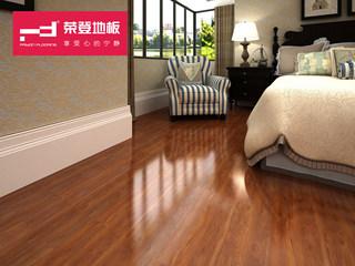 (物流点送货入户+安装含辅料)仿实木强化地板 复合木地板12mm 红粉世家系列 柚木风情 环保地板 HS02