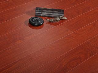 简美 多层实木地板 真木纹 中性色系 桉木地板