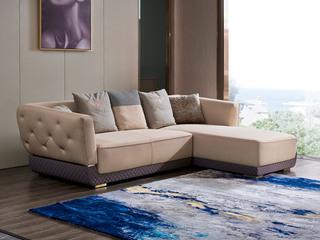 慕梵希 轻奢 (3+贵妃) 样色磨砂 高端纳帕皮 北美进口落叶松框架 C31沙发组合