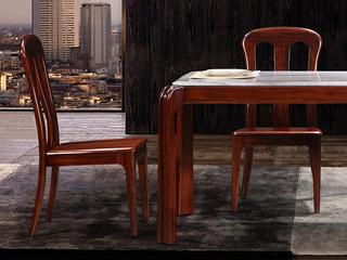中式休闲系列KY606实木餐椅
