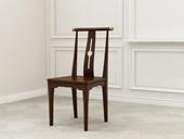 檀宫御品 新中式 优质进口小乌金木 FA1901 餐椅