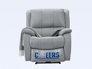 头等舱单人懒人电动沙发真皮功能客厅芝华士太空舱椅(此款不含抱枕)