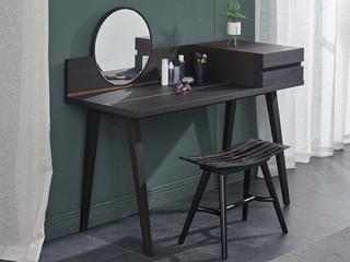 极简风格 黑色 SQ-8梳妆凳