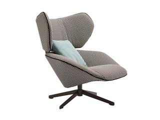极简风格 优质布艺 LC016休闲椅