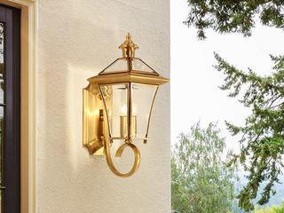 欧式MC086-1W铜灯 单头壁灯(包邮)(不含光源)