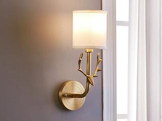 美式MC560-1W铜灯 单头壁灯(包邮)(不含光源)