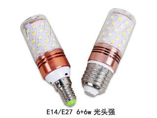 E27光头强暖光12W光源 图片右侧