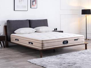 国王3D床垫 库布独立袋装弹簧 高克纳米针织面料 静音床垫 1.2*2.0米可定制床垫