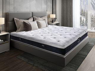 伯爵B款 9区独立袋弹簧床垫 东南亚进口乳胶垫 1.8*2.0米可定制床垫