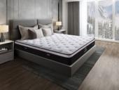 吉斯贵族 侯爵B款 9区独立袋装弹簧 天然东南亚进口乳胶床垫 高棉纳米针织面料 软硬两用床垫 1.8*2.0米可定制床垫