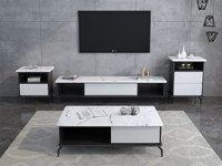 米勒 现代简约 电视柜(不含左右斗柜)