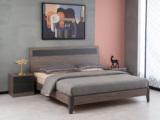 科隆印象 现代简约 高级灰 经济型卧室床 1.8*2.0米床