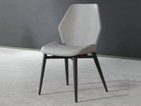 米勒 極簡風格 淺灰色 餐椅