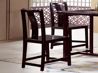 新中式 东南亚进口红檀木 C953 餐椅