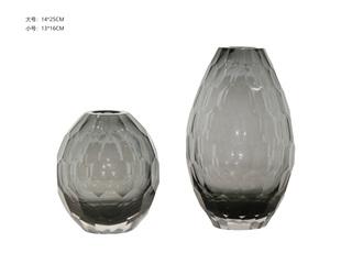现代简约 玻璃HYQS0034A/B装饰摆件组合(A+B)