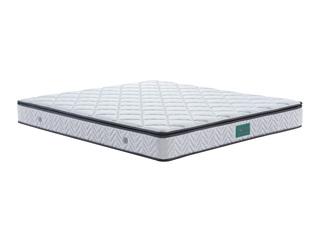 慕思集团时尚品牌 舒适乳胶 360度环抱式透气 软硬双面 人体工程学1.5m床垫