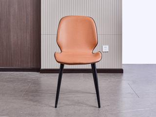 现代简约 纳米科技布面料 棕色 椅子