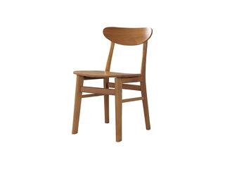 北欧风格 北美进口白蜡木 小清新 日式餐椅