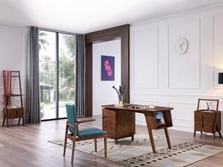 北欧风格 北美进口白蜡木 书桌