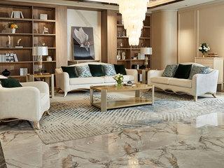 简美风格 北美进口榉木坚固框架 棉麻布面料 沙发组合(1+2+3)