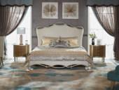 美克世家 简美风格 北美进口榉木坚固框架   松木床板条布艺床 1.8*2.0米床