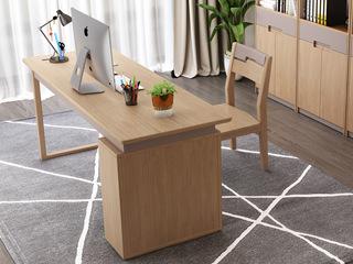 北欧风格 泰国进口橡胶木 1.2米书桌