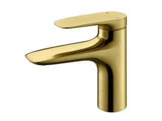 【包邮 快递到家(偏远地除外)】防溅气泡式出水高端经典冷热台上盆面盆铜龙头金色MS12JIN