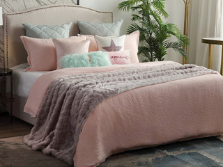 粉色之星 床品四件套(含1对枕套、1条被套、1条床单)(不含芯)