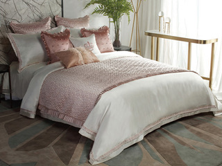 曼蒂 床品四件套(含1对枕套、1条被套、1条床单)(不含芯)