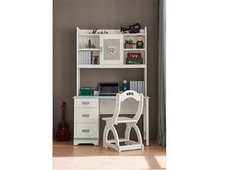 现代简约 主材樱桃木+白蜡木 大宝环保水性漆 全实木直角书桌