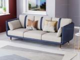 卡罗亚 轻奢风格 高端纳帕皮+实木框架 三人位沙发
