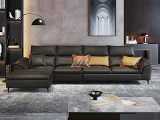 现代极简  优质科技布面料 转角沙发(1+3+右贵妃)