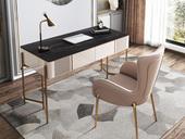 慕梵希 轻奢 岩板 书桌(长1200mm)