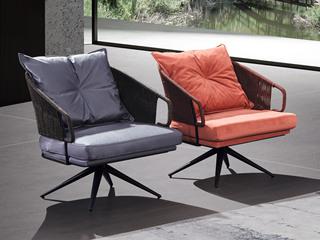 极简风格 舒适坐感 超柔科技布 单椅